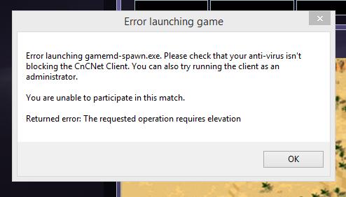 gamemd.exe hatası