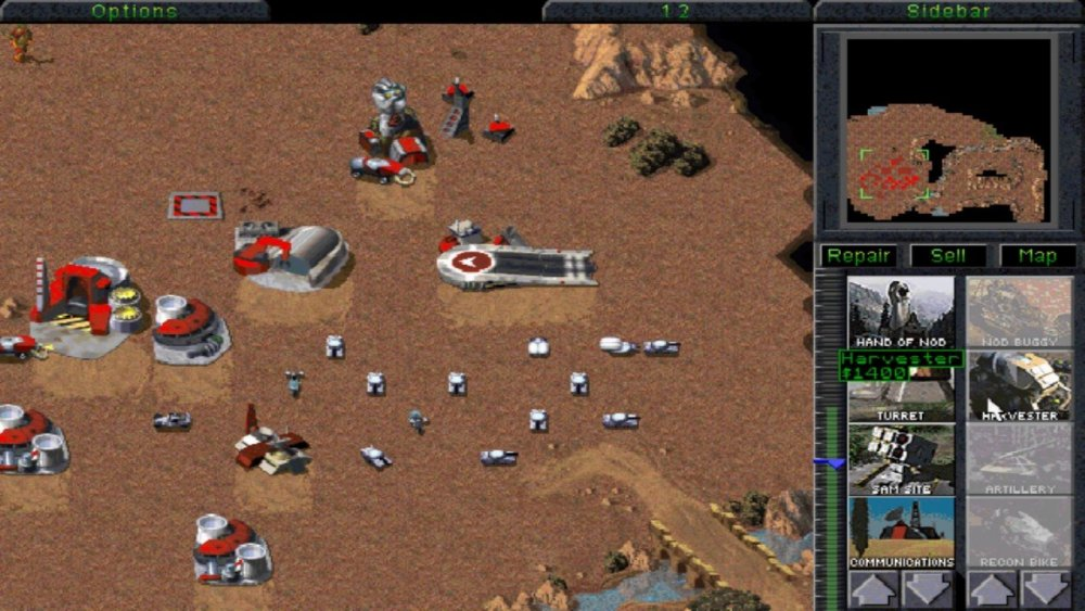 Command & Conquer Original shows NOD units wore Grey.jpg